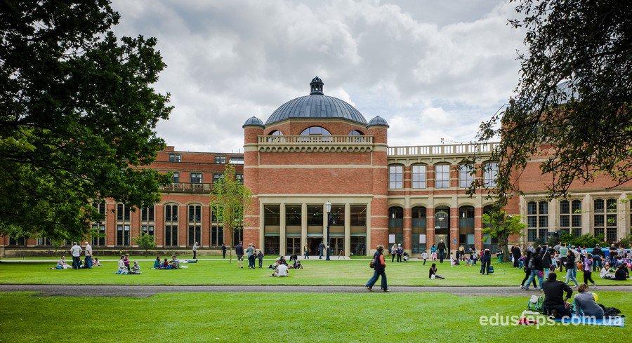 кампус University of Birmingham