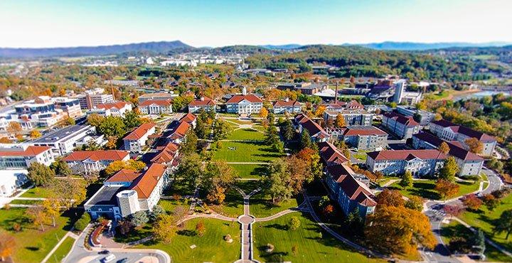кампус James Madison University