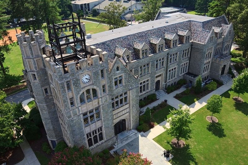 кампус Oglethorpe University