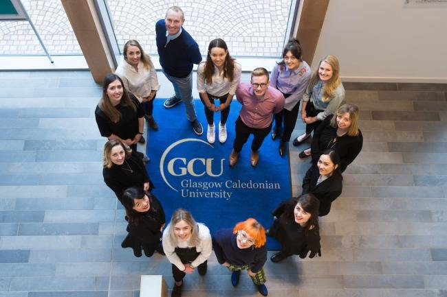 кампус Glasgow Caledonian University