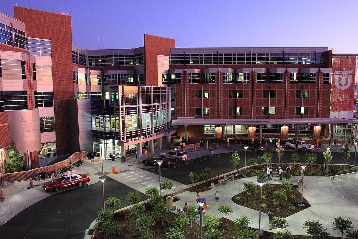 кампус The University of Utah